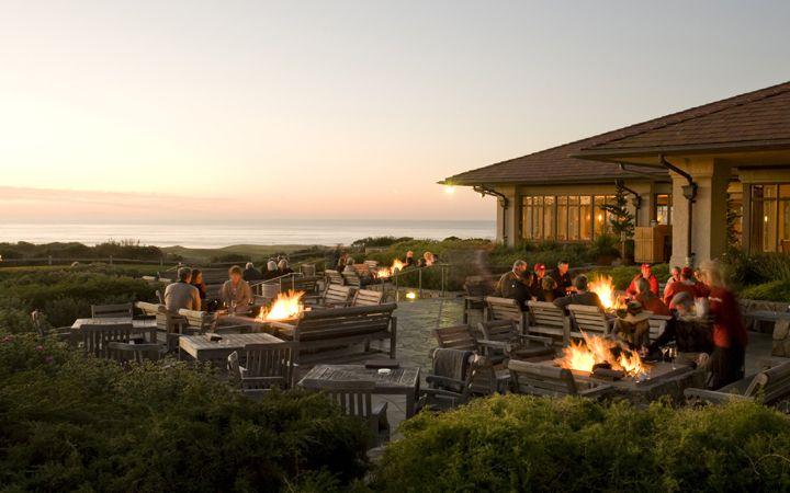 The Inn at Spanish Bay. Pebble Beach, California. Fire ...