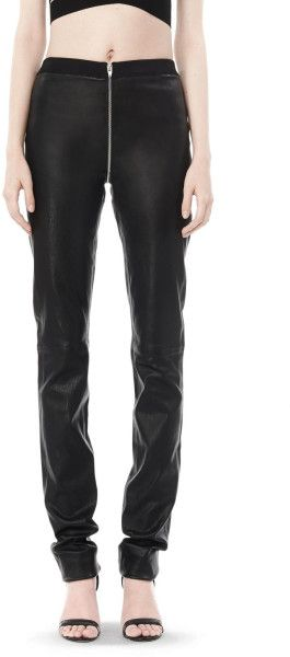 Alexander wang Fall 2008 Stretch Leather Pant in Black