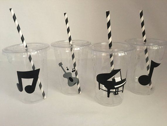 Music party, Music Birthday Party, Piano Party, Instrument Party, Rock Star Party,Music Party FAvors