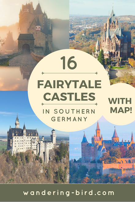 16 Amazing Fairytale Castles In Southern Germany With Map 2018