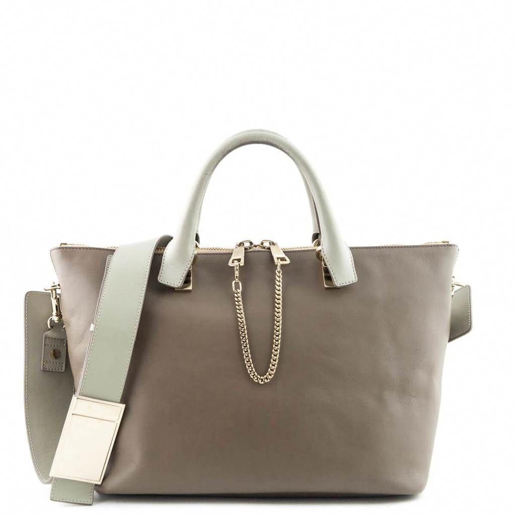 146a2979b03 Chloe Two-Tone Taupe Medium Baylee Shoulder Bag - LOVE that BAG - Preowned  Authentic Designer Handbags -  550CAD  Designerhandbags