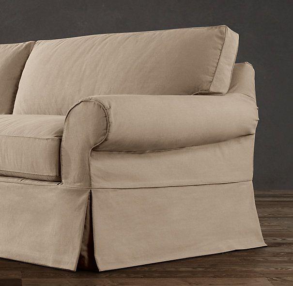 Restoration Hardware Sofa Throws: Restoration Hardware Slipcovers
