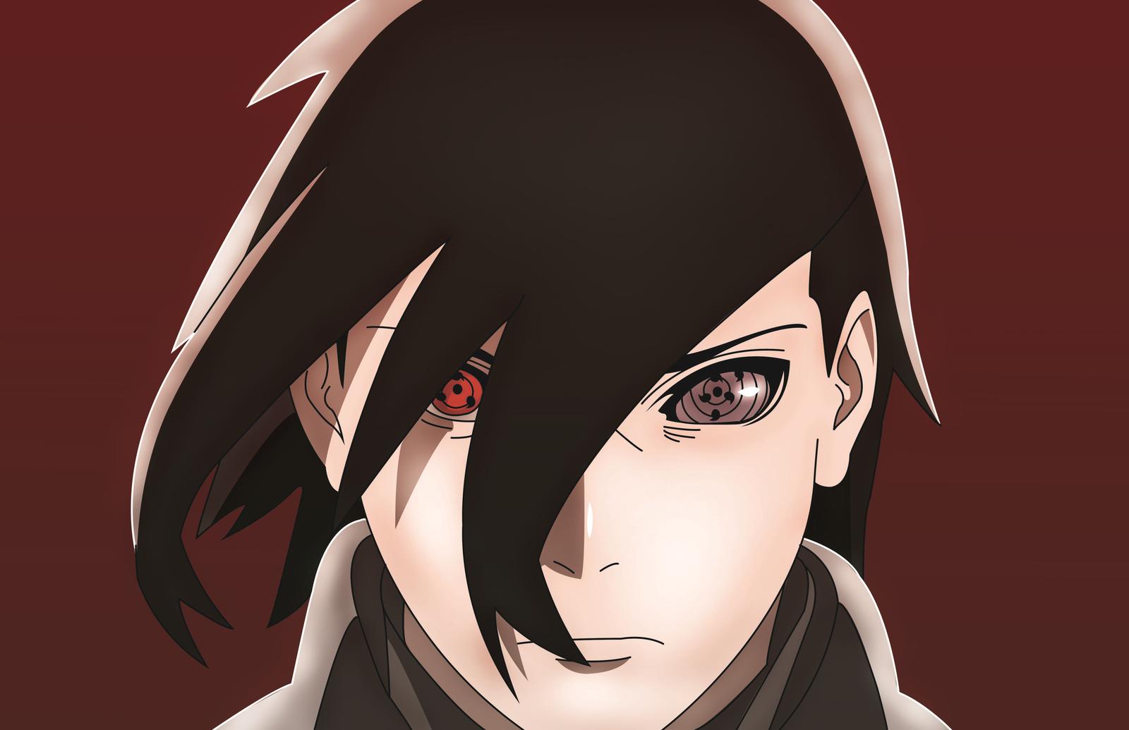 Resultado de imagen para sasuke rinnegan boruto Sasuke