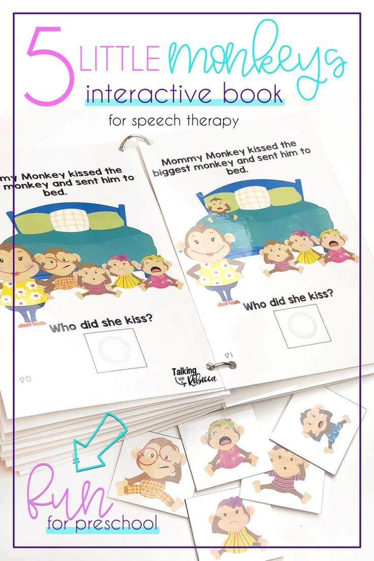 Five Little Monkeys Jumping on the Bed Interactive Book