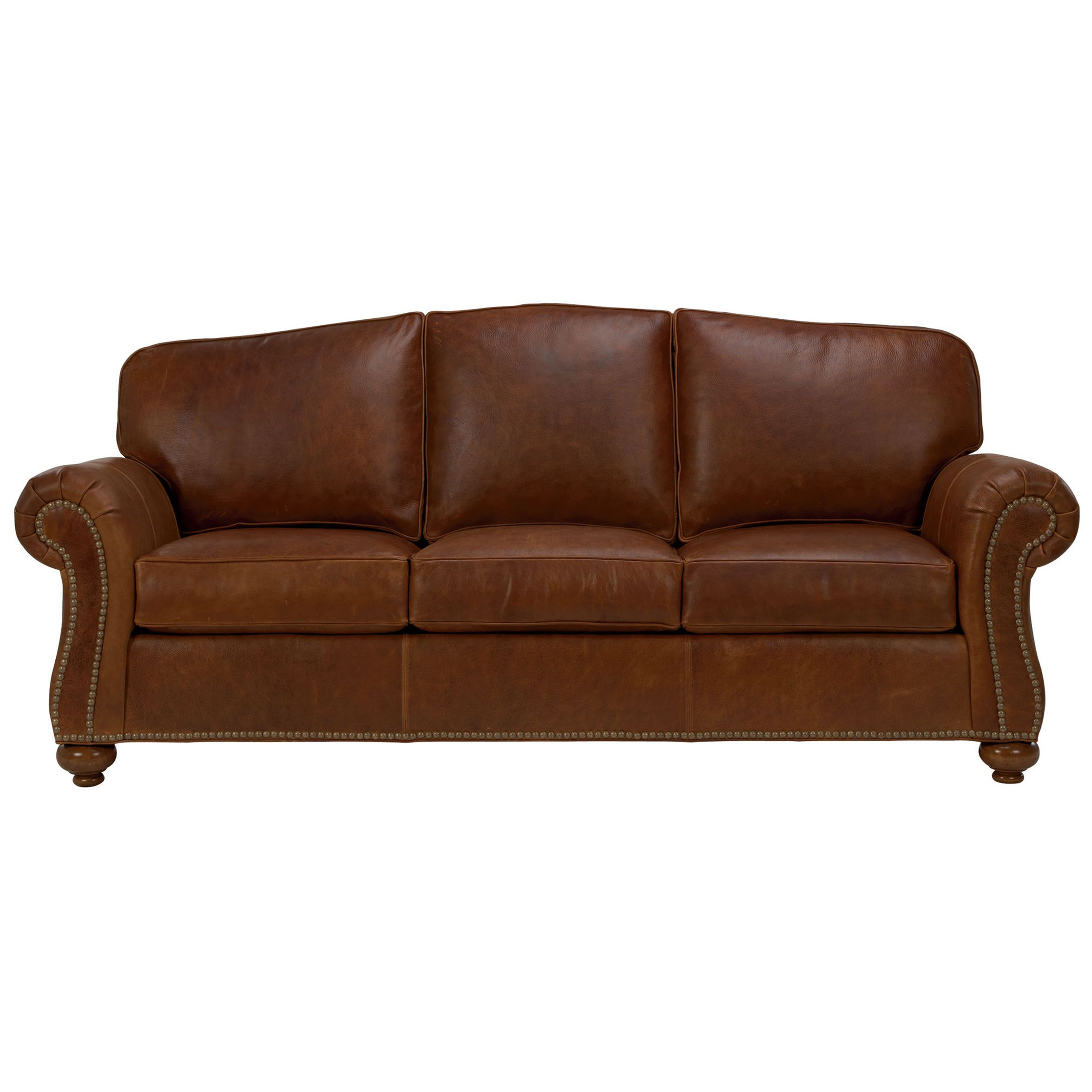 Okay this is just lovely Whitney Leather Sofa Ethan Allen US