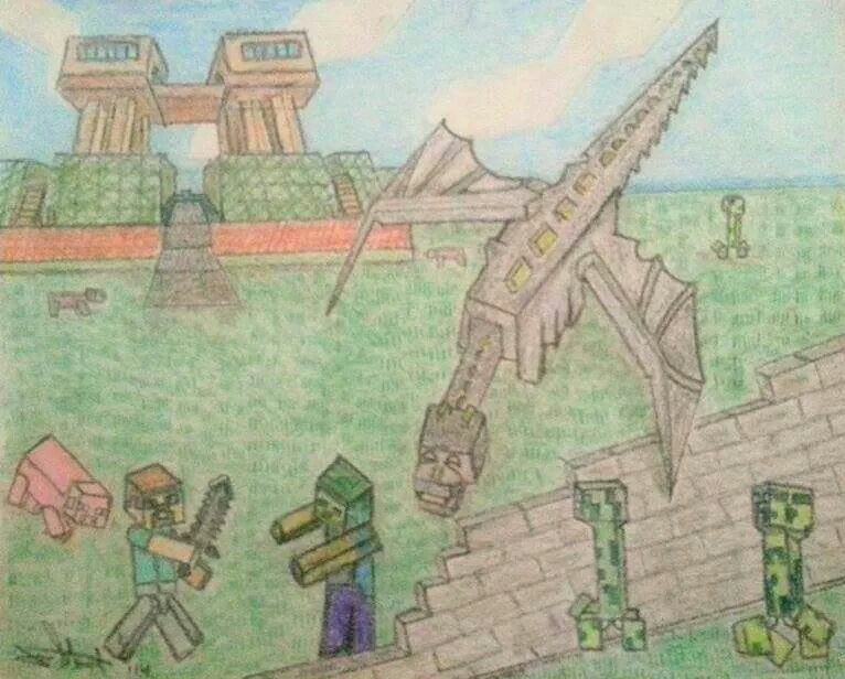 Minecraft Fan Art