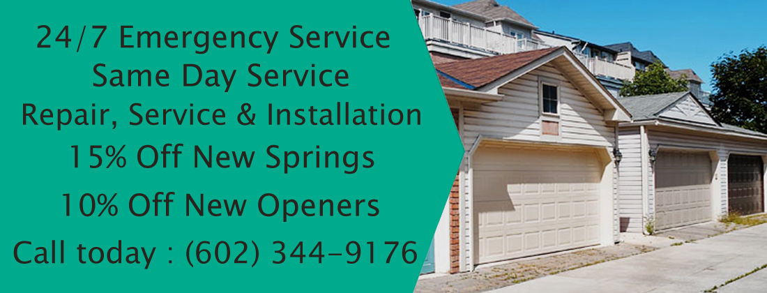 Phoenix Garage Door Repair Specializes In Residential Garage Door