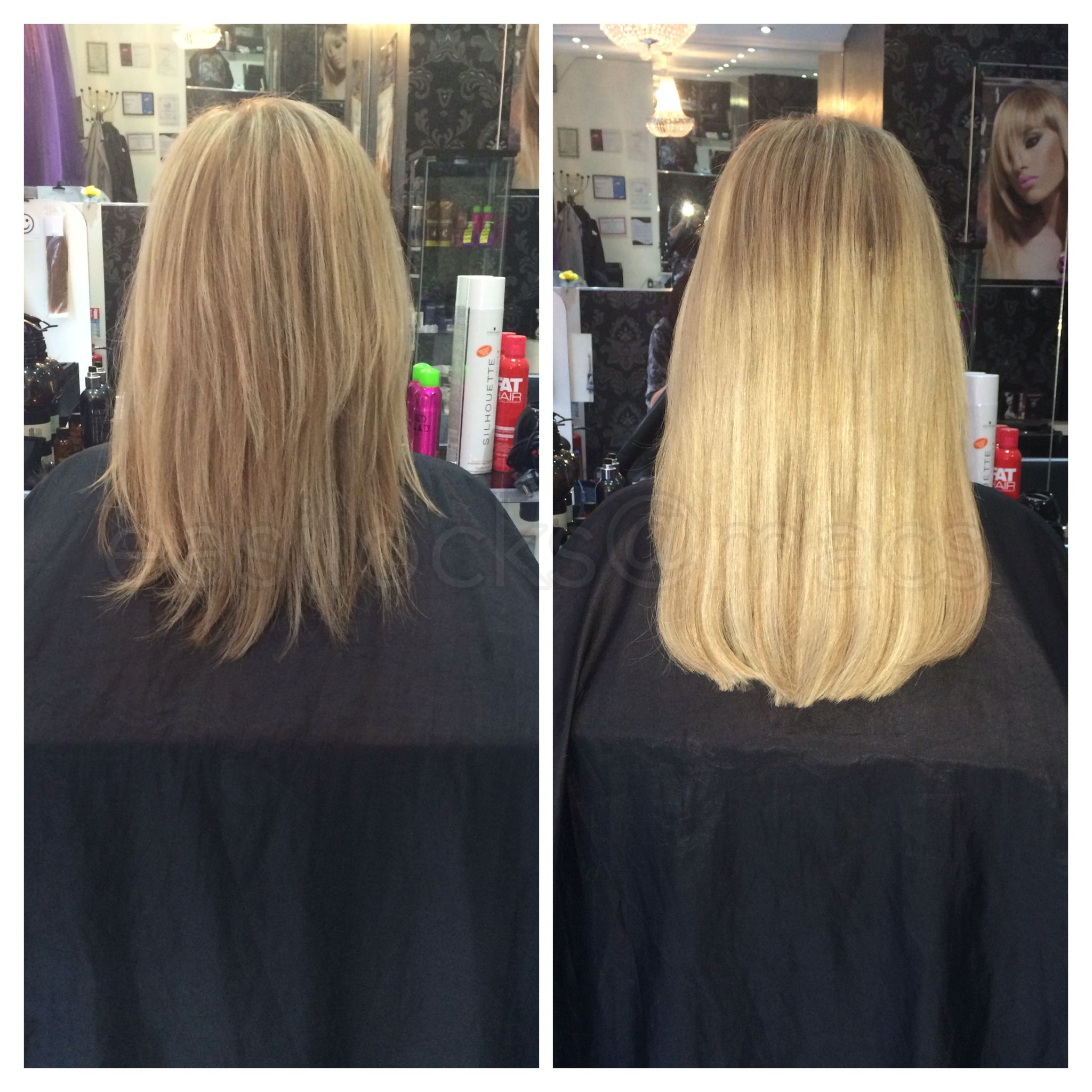 Easilocks Extensions At Macs Glasgow Hair And Beauty 01413575511