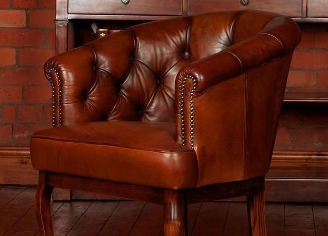 Cabriolet Hand Antique Tub Chair from George Tannahill & Sons - Cabriolet Hand Antique Tub Chair From George Tannahill & Sons