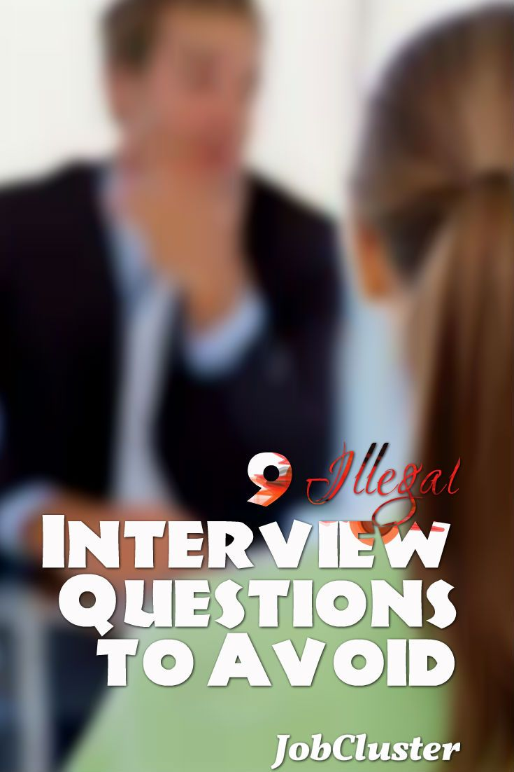 Awesome 9 Illegal Interview Questions To Avoid #InterviewQuestions #JobInterview