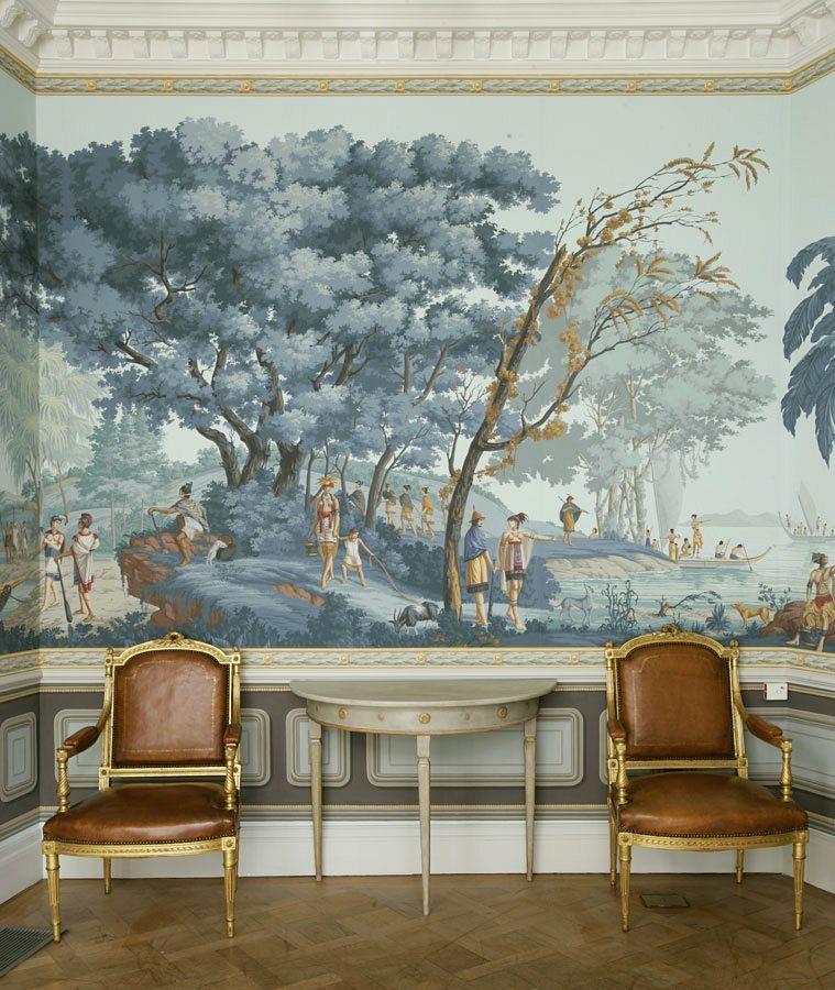 Grisaille Murals Wallpapers Art Screens Part Ii Laurel Home