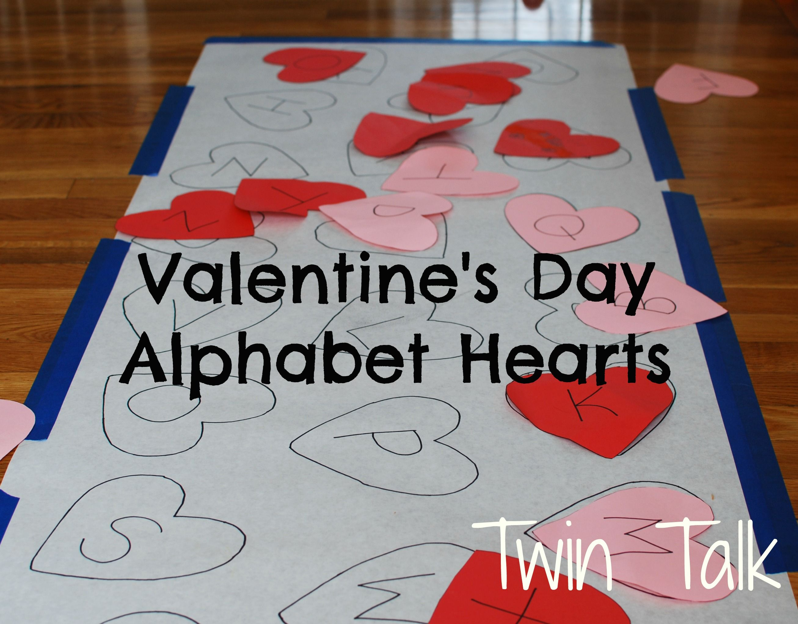 Valentine S Day Alphabet Heart Matching Game