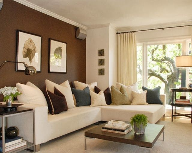 brown paint living room walls color schemes tan couch accent when they work new home ideas in you should use them by blogger emily clark aka the problem fixer d