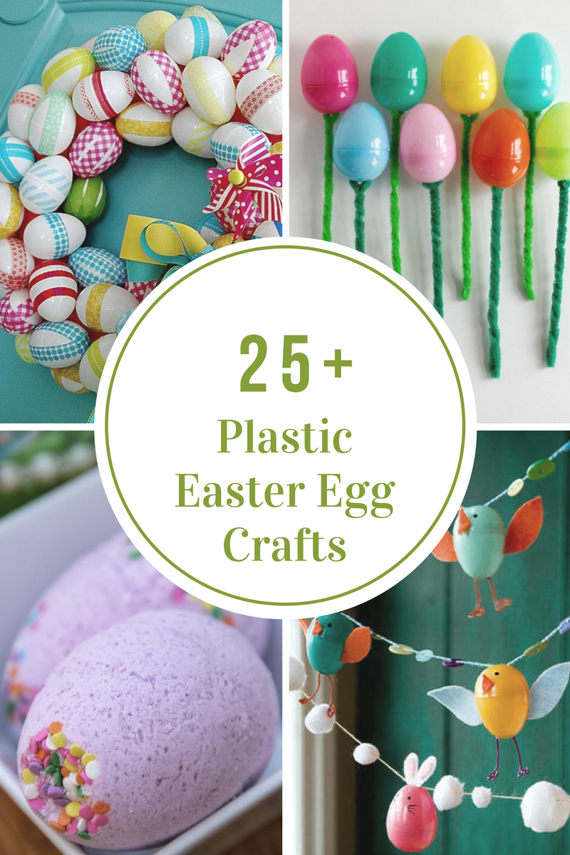 Plastic Easter Egg Crafts And Activities Plastic Easter Egg Crafts Easter Egg Crafts Egg Crafts