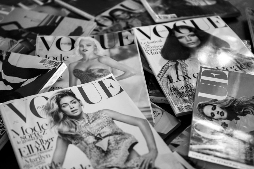 The gift that never stops giving: French Vogue.