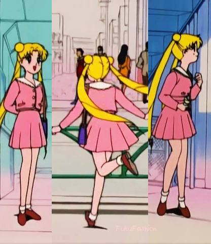 Episode 09- Usagi Casual | Sailor Moon clothes | Pinterest ...