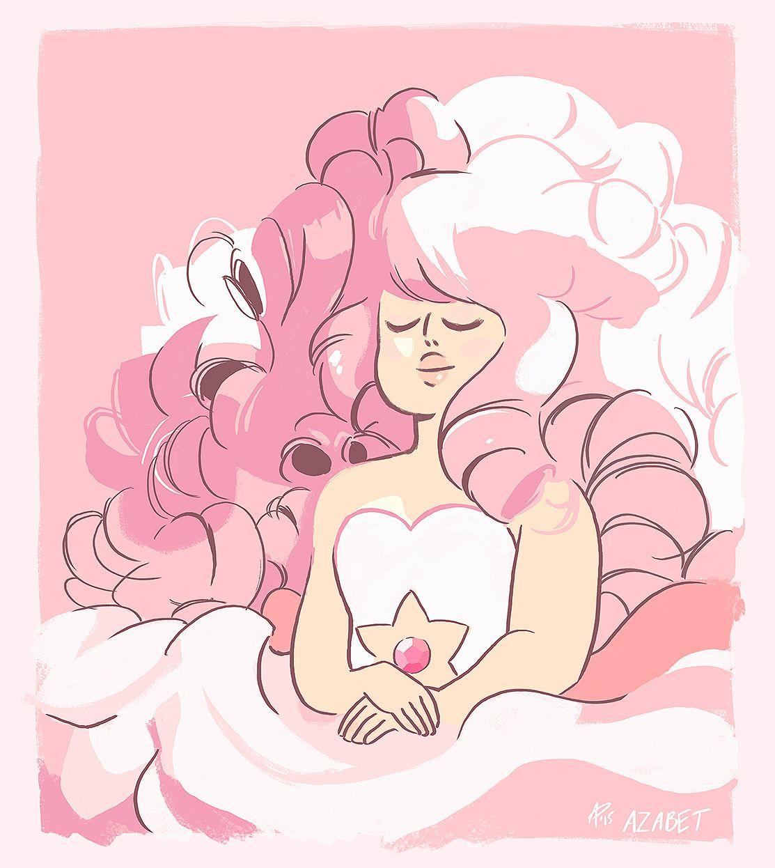 Steven Universe Sketch Rose: Another Steven Universe Study
