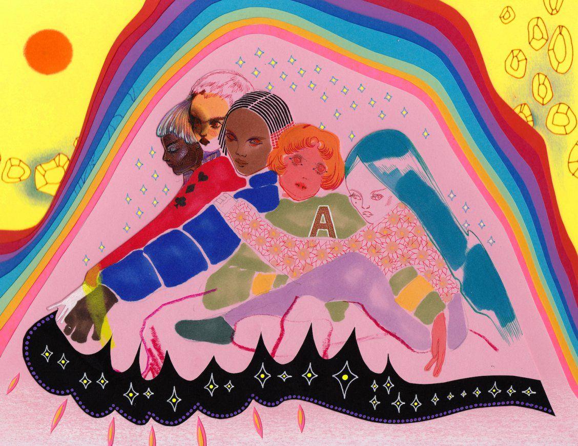 """Mysteries of Love"" Art by Juliana Horner on Society6 | Society6 thumbnail"