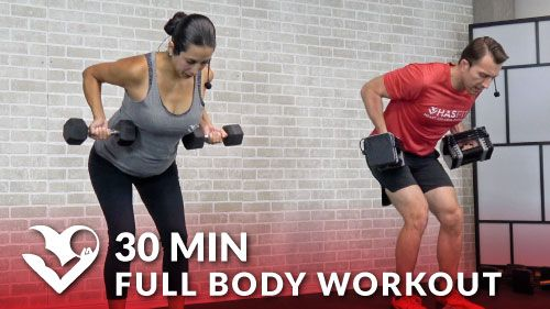 30 Minute Full Body Workout with Dumbbells - HASfit - Free Full Length Workout Videos and Fitness Programs