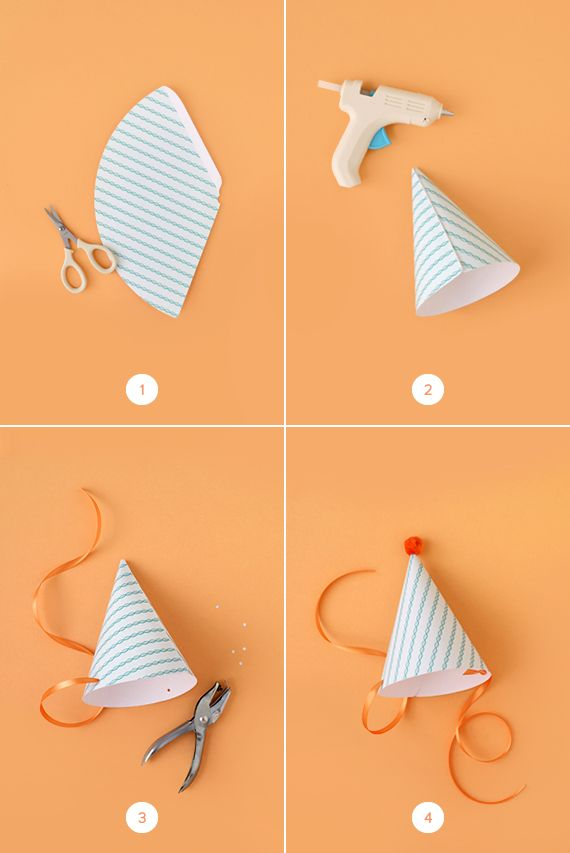 Photo of DIY Party Hats (With Printable!)