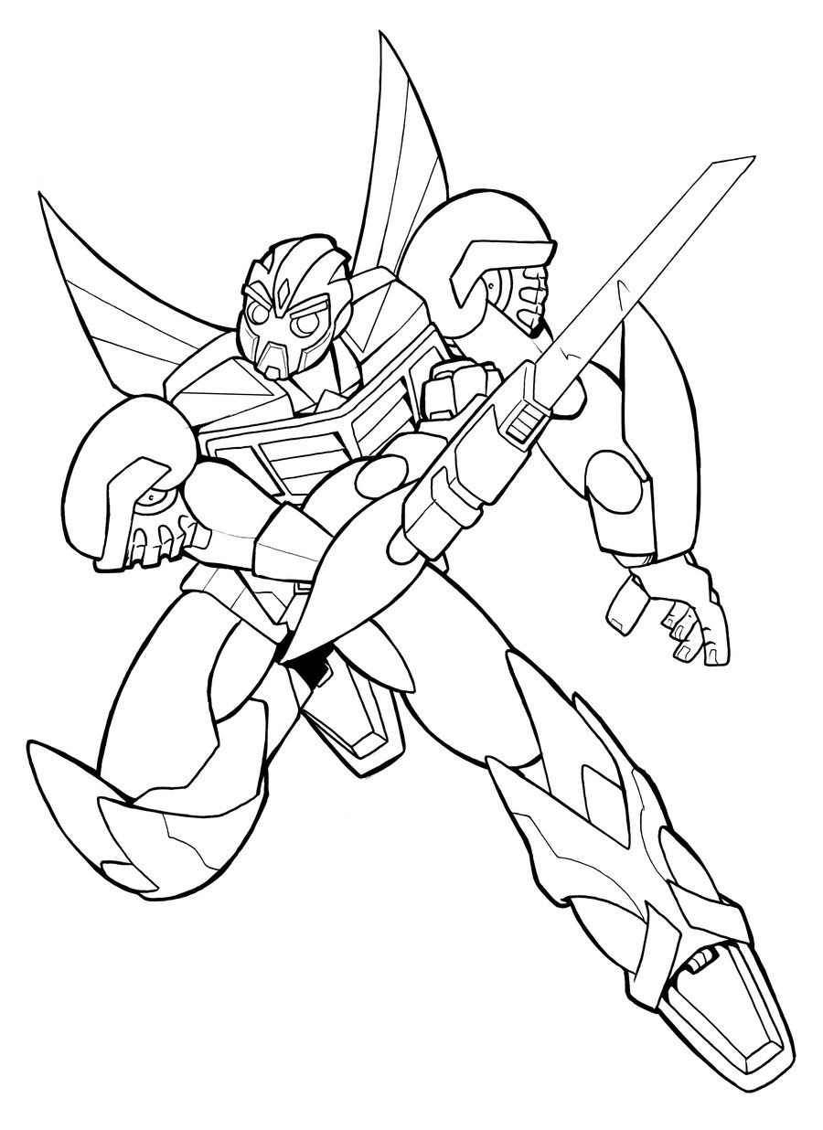 Bumblebee Transformer Free Colouring Pages Transformers