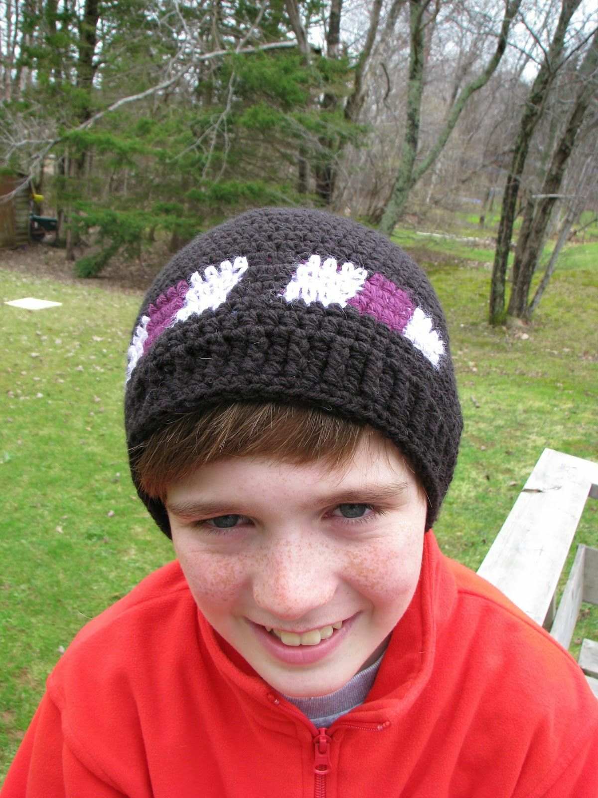 Becky\'s Stitches and Style: Minecraft Enderman Hat | crochet hats ...
