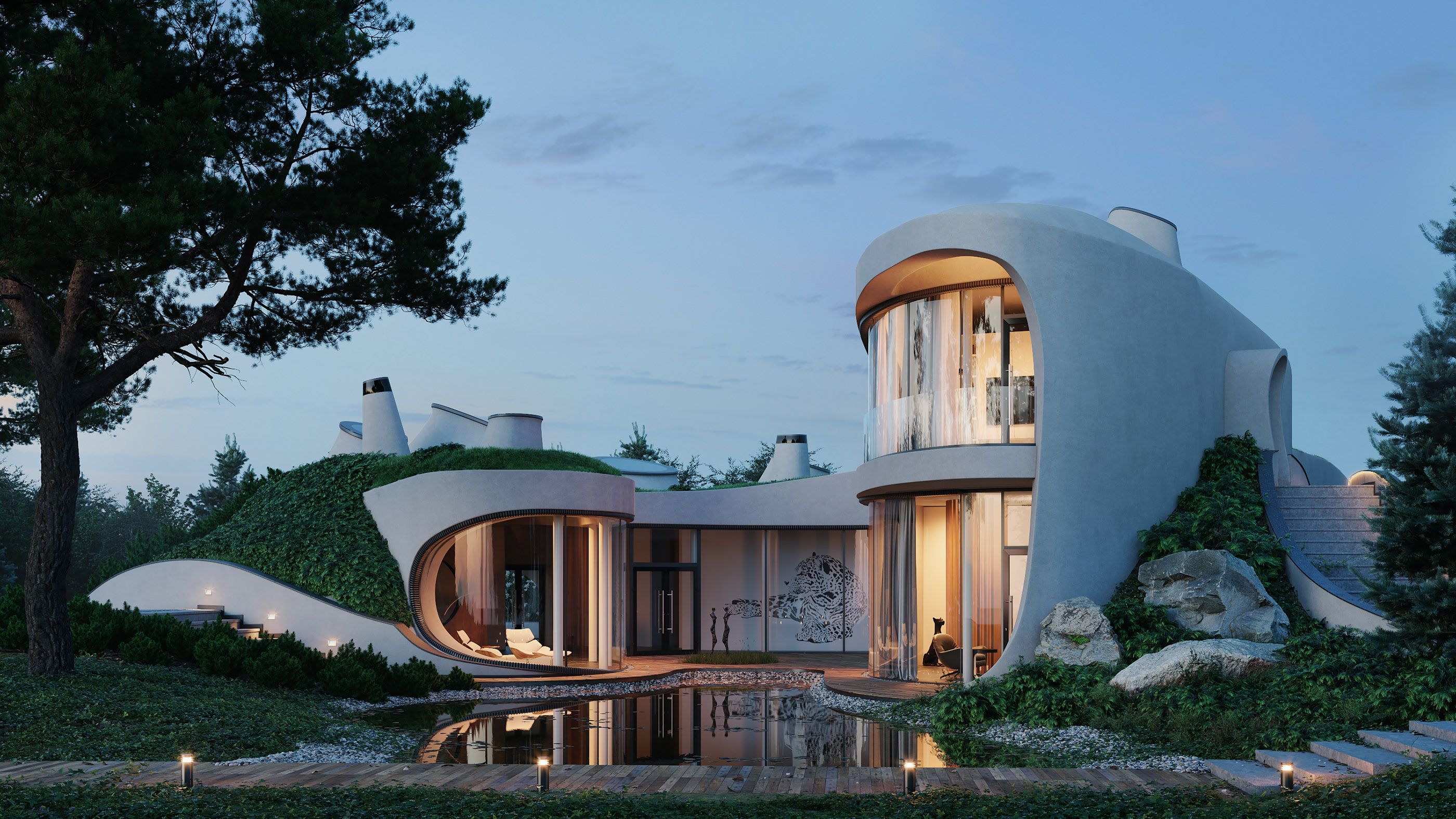 46++ House in the landscape niko architect inspirations