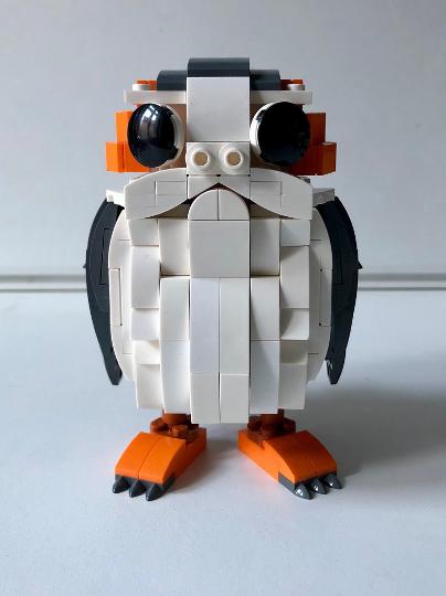 Lego Porg Moc Instructions Lego Pinterest Lego And Lego Moc