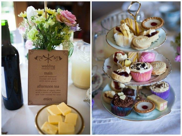 Afternoon Tea Party Wedding Reception At Somerhill Estate In Tonbridge