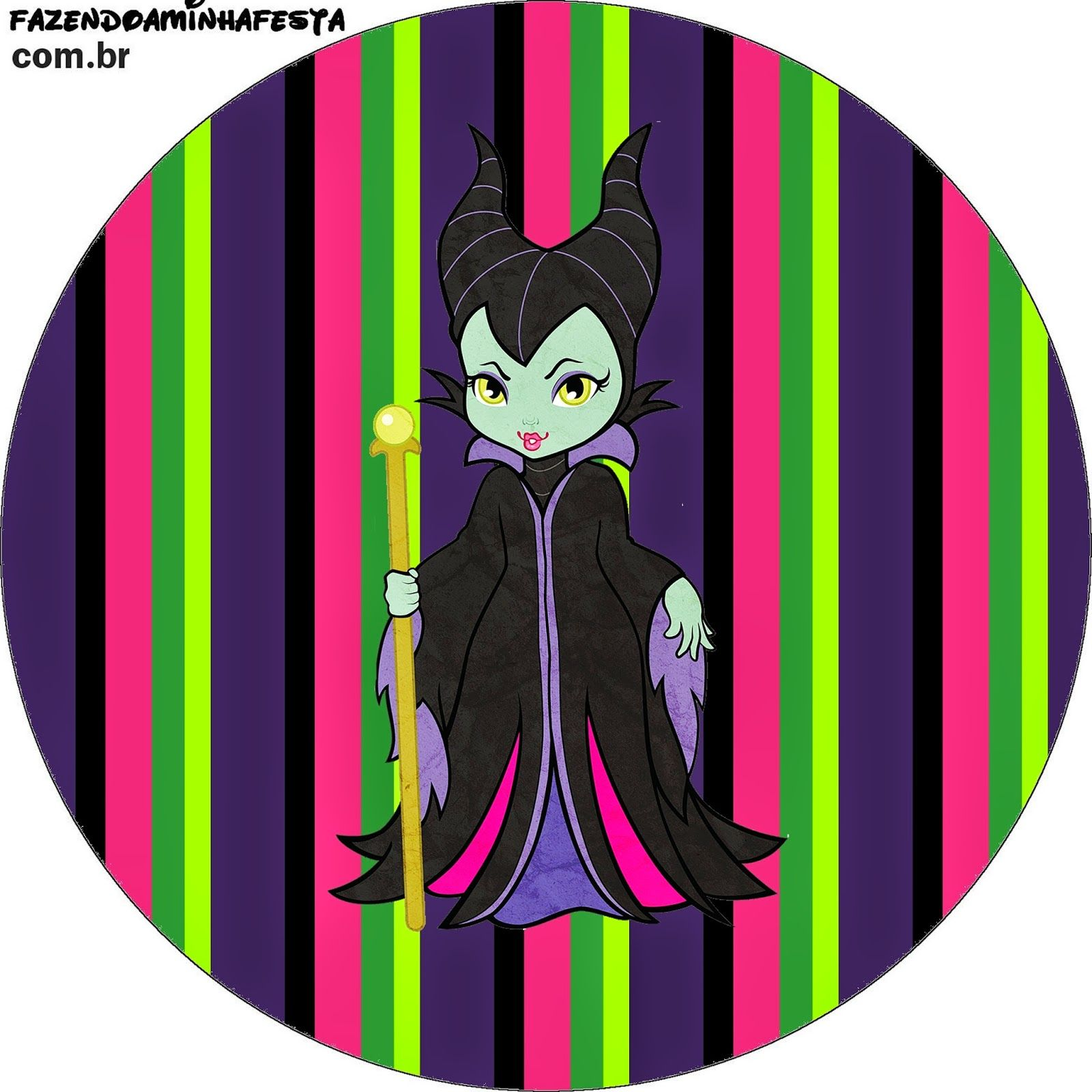 Maleficent Baby: Free Printable Candy Bar Labels. | baby villain ...