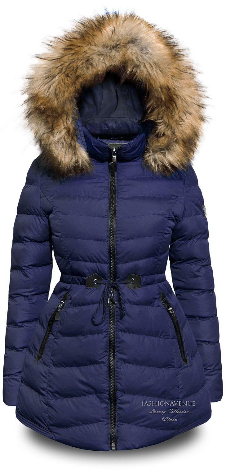 Fa 109 Puchowka Zimowa Asymetryczna Talia Xl 5726684073 Oficjalne Archiwum Allegro Winter Jackets Jackets Fall Winter