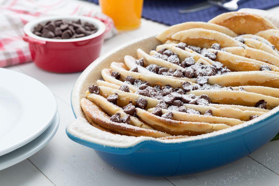 Chocolate Chip Pancake Bake