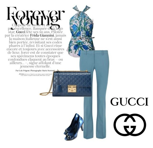 """""""Gucci"""" by cinzia-cipriani ❤ liked on Polyvore featuring Gucci"""
