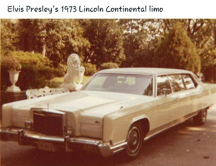 Elvis Presley's 1973 Lincoln Continental limo