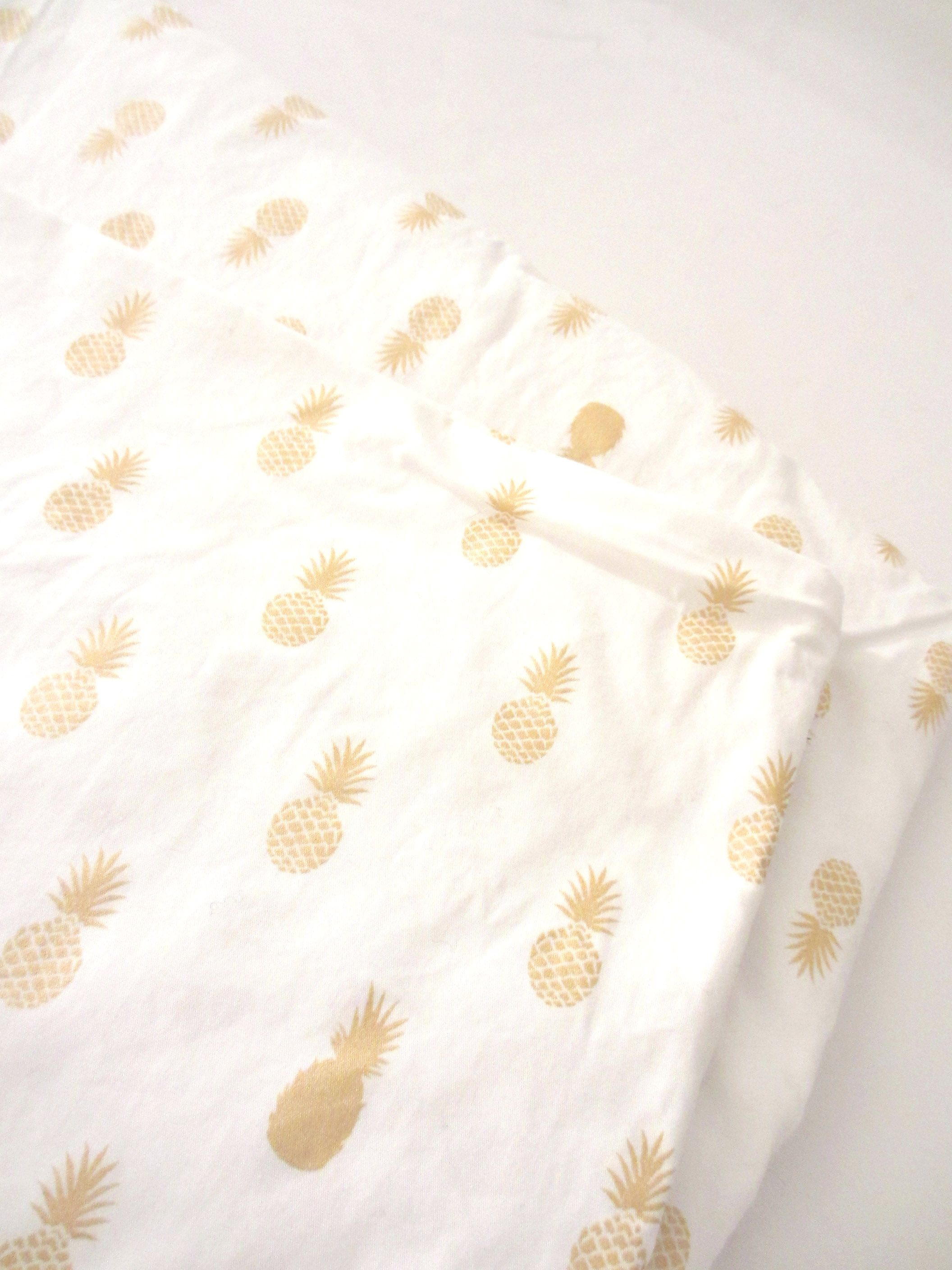 "A Nana's Fabric (in French ananas = pineapple and ""une nana""= a chick)"