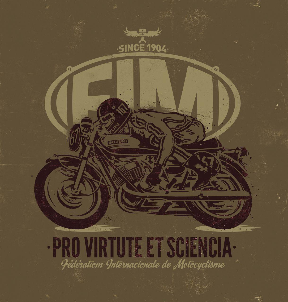 Working for FIM. Fédération International de Motocyclisme