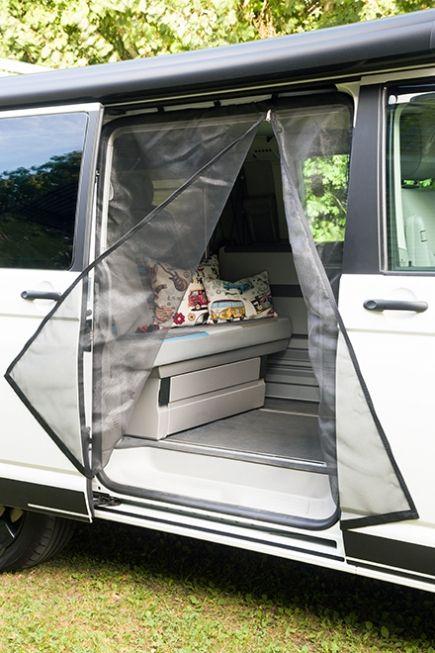 Mosquito Net For Sliding Door Open Camper Van Minivan Camping Van Life