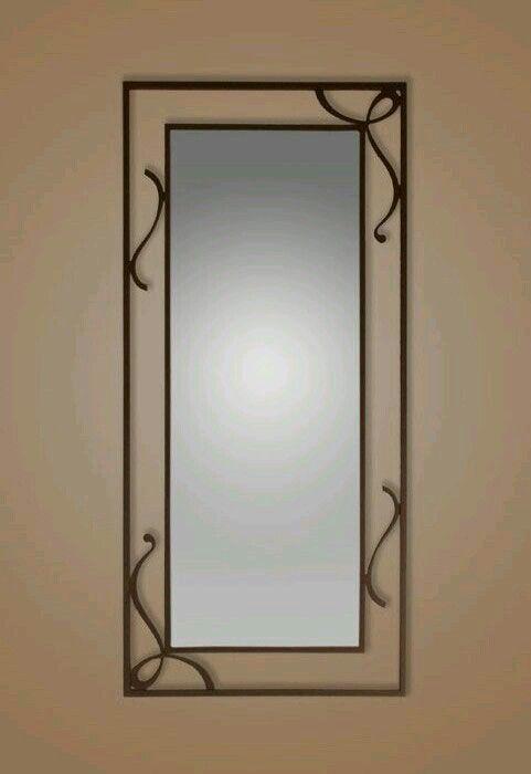 Contra marco de espejo   DECORACIN DE INTERIORES  Metal