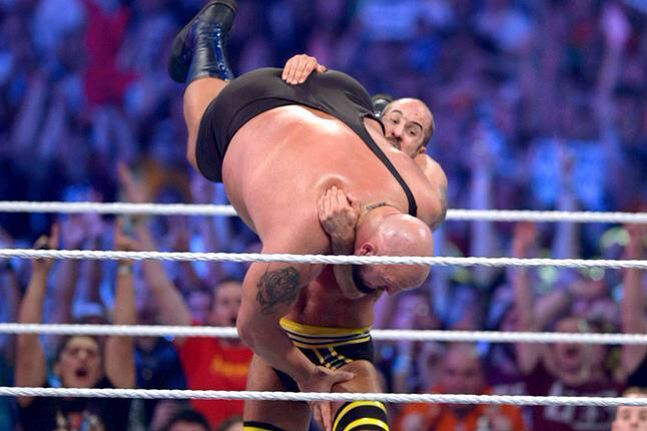 Cesaro Of Picking Up The Big Show Eliminating Him To Win The