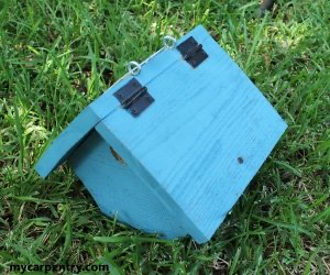 Wren Birdhouse Plans perfect for Wrens and House Finches