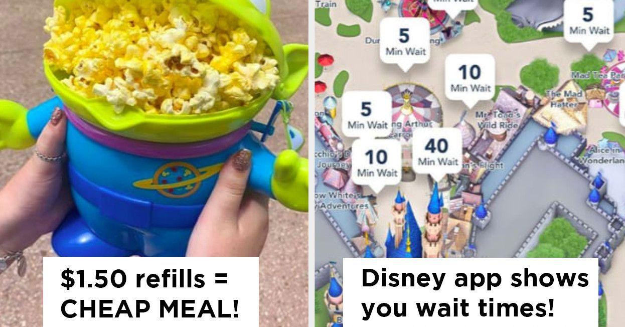 People On Reddit Shared The Best Disney Park Hacks And