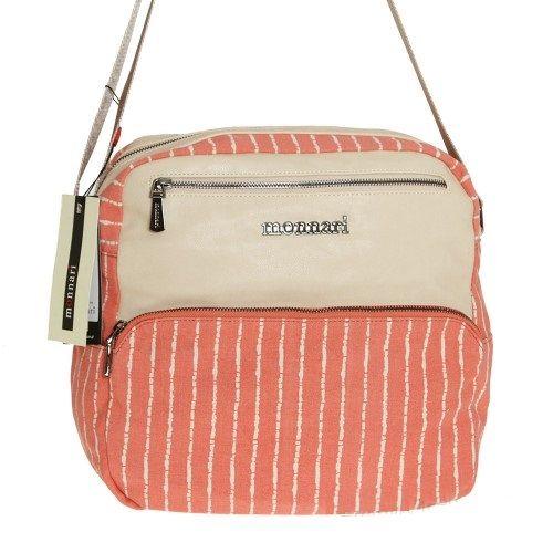 Retro kabelka na rameno MONNARI MON3491-pink