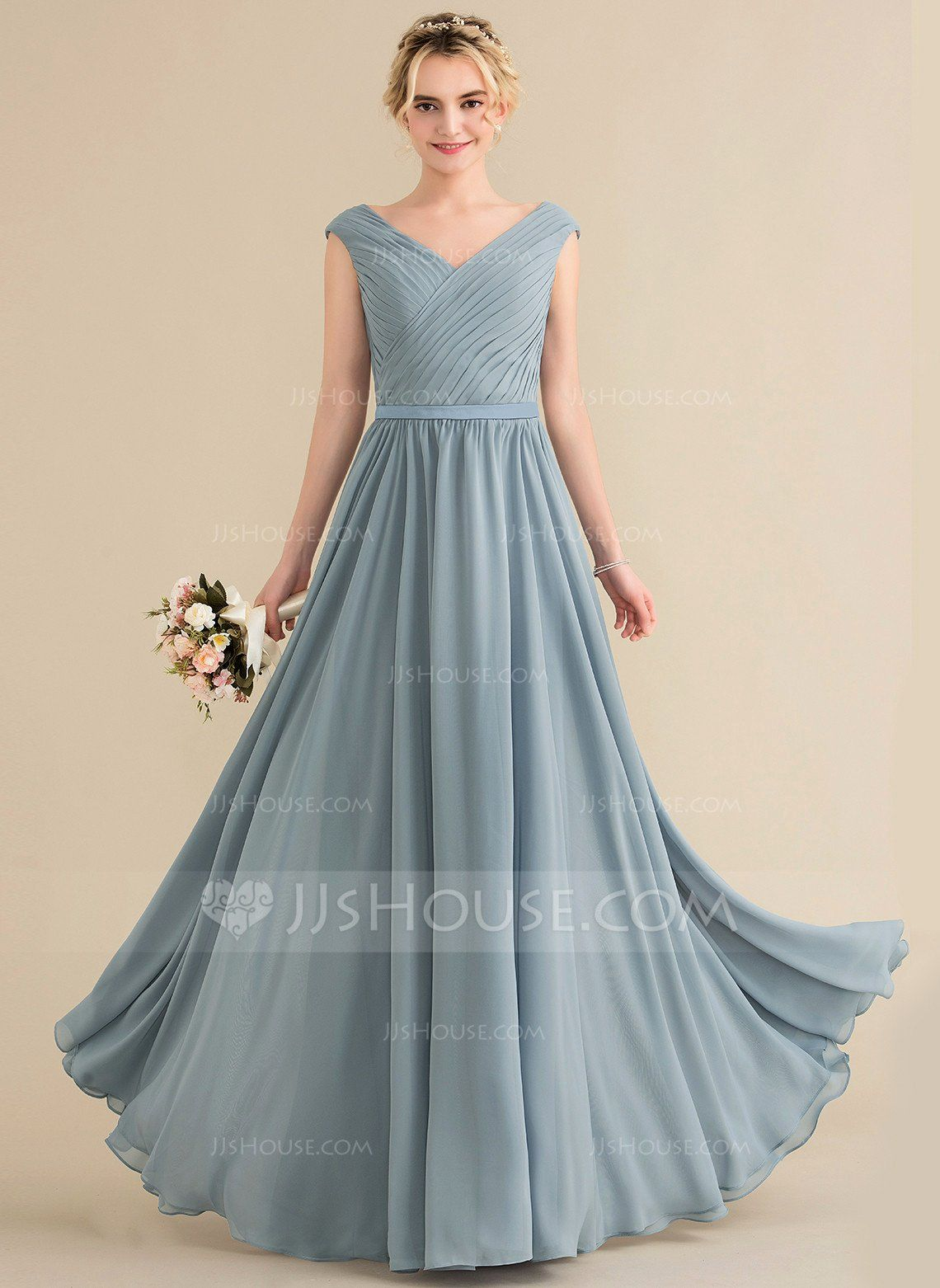 Jjs House Wedding Dress Fresh A Jjshouse Wedding Dresses Revie Floor Length Chiffon Bridesmaid Dresses Steel Blue Bridesmaid Dresses Spring Bridesmaid Dresses