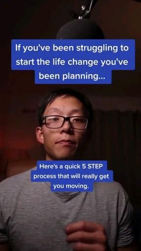 Struggling to change your life?