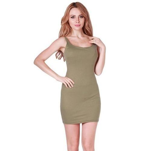 Sexy Fashion Slim Backless Dress