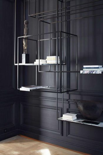 bismut bismut architectes bookcase pinterest shelving shelves and interiors. Black Bedroom Furniture Sets. Home Design Ideas