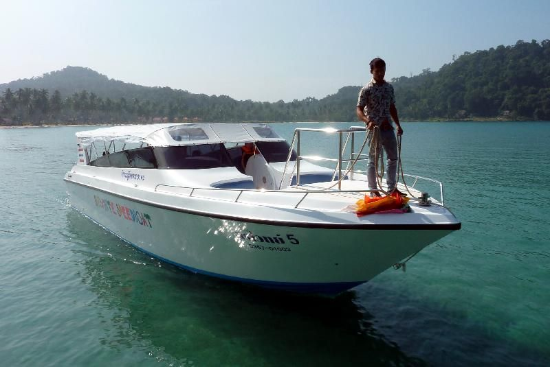 Speedboat van Trat naar Koh Kood om 09.00 's morgens