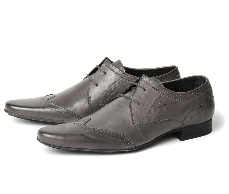 'Good shoes for good people' - Ellington New Dye in grey, H by