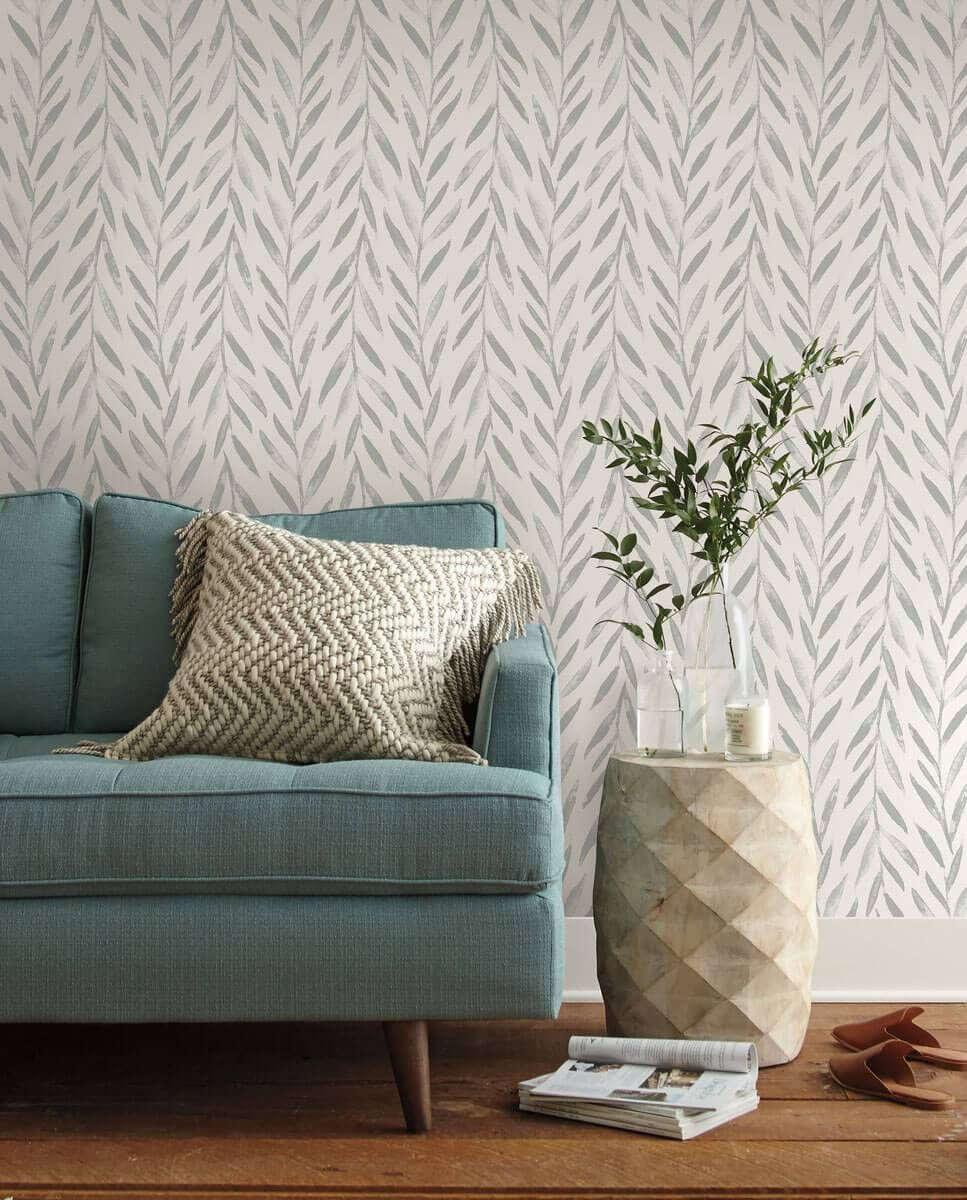 Magnolia Home Willow Peel & Stick Wallpaper Grey in 2020