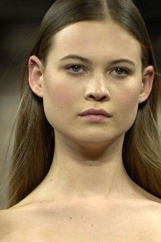 Models with pierced nipples